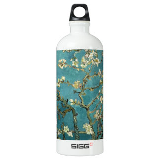 Van Gogh - Blossoming Almond Tree Water Bottle