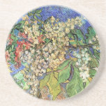 Van Gogh; Blossoming Chestnut Branches Beverage Coasters