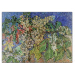 Van Gogh; Blossoming Chestnut Branches Cutting Boards