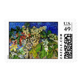Van Gogh Blossoming Chestnut Branches (F727) Postage Stamps