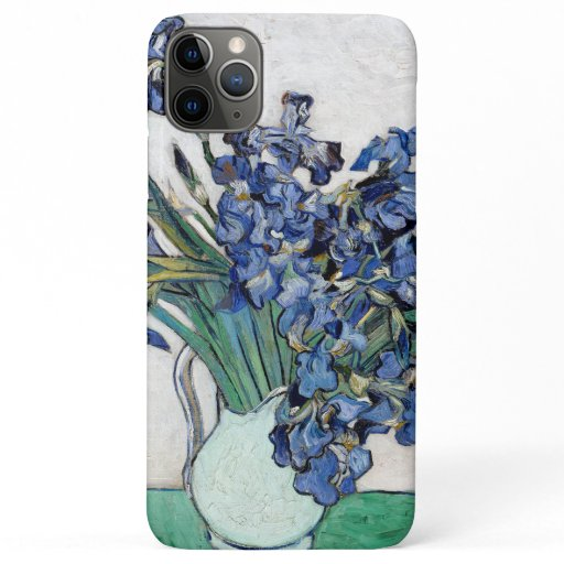 Van Gogh Blue Irises Apple 11  iPhone Case
