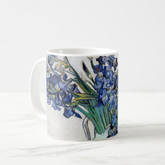 Van Gogh Blue Irises Coffee Mug