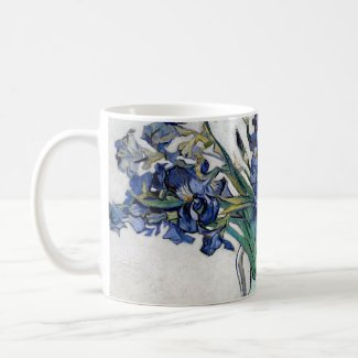 Van Gogh Blue Irises
