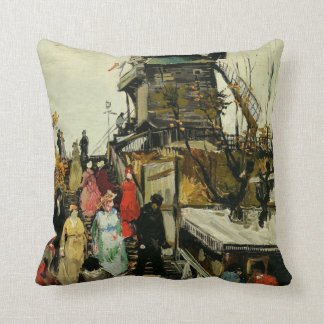 Van Gogh - Blute-Fin Mill Throw Pillow