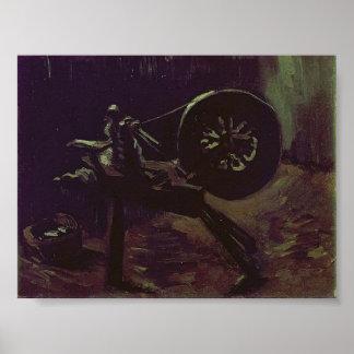 Van Gogh - Bobbin Winder Poster