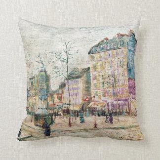 Van Gogh: Boulevard de Clichy Pillow
