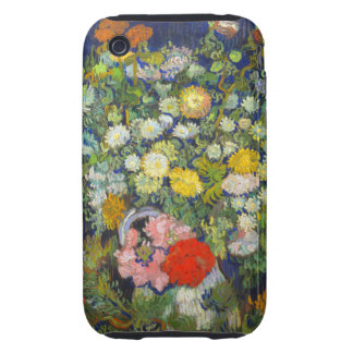 Van Gogh Bouquet of Flowers iPhone 3 Tough Cover