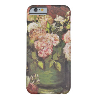 Van Gogh Bowl with Peonies and Roses GalleryHD Barely There iPhone 6 Case