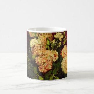Van Gogh; Bowl with Peonies and Roses Coffee Mug