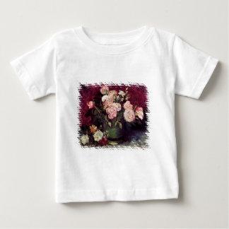 Van Gogh - Bowl with Peonies & Roses T Shirt