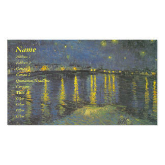 Van Gogh business card