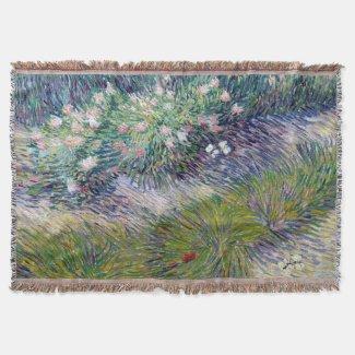 Van Gogh Butterflies Throw Blanket