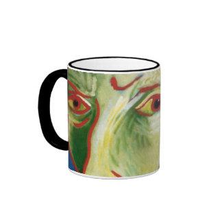 Van Gogh by Gregory Gallo Ringer Coffee Mug