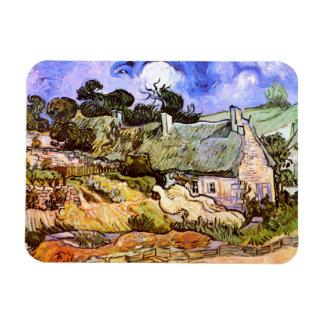 Van Gogh: Cabaña de los granjeros en Cordeville Iman De Vinilo