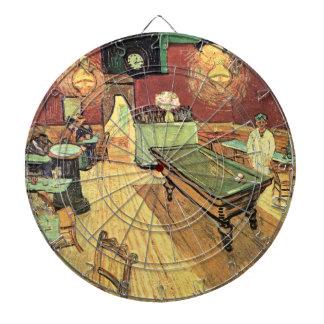 Van Gogh; Café de la noche en el lugar Lamartine, Tablero De Dardos