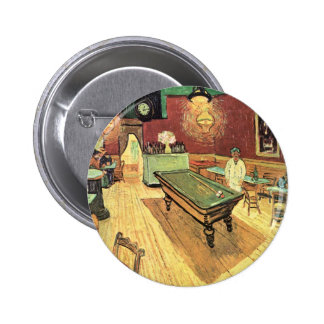 Van Gogh; Café de la noche en el lugar Lamartine,  Pin
