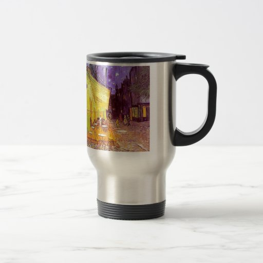 Van Gogh Cafe Impressionist Painting Coffee Mug