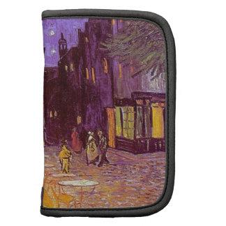 Van Gogh Cafe Impressionist Painting Folio Planner