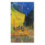 Van Gogh | Cafe Terrace at Night | 1888 Business Card