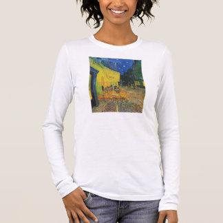 Van Gogh | Cafe Terrace at Night | 1888 Long Sleeve T-Shirt