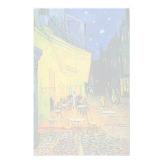Van Gogh   Cafe Terrace at Night   1888 Stationery