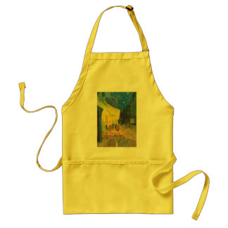 Van Gogh Cafe Terrace at Night Adult Apron