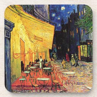 Van Gogh Cafe Terrace At Night Beverage Coaster