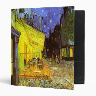 Van Gogh: Cafe Terrace at Night Binder