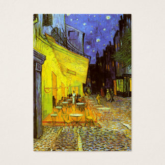 Van Gogh: Cafe Terrace at Night Business Card