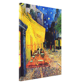 Van Gogh Cafe Terrace At Night Gallery Wrapped Canvas