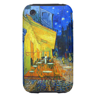 Van Gogh Cafe Terrace at Night Tough iPhone 3 Covers