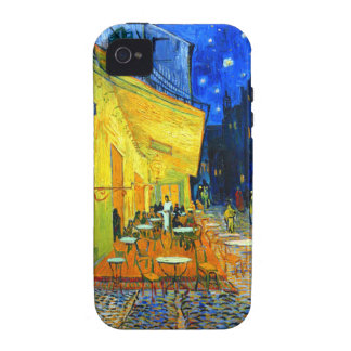 Van Gogh Cafe Terrace at Night Case-Mate iPhone 4 Covers