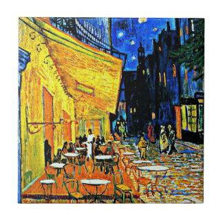 Van Gogh - Cafe Terrace at Night Ceramic Tile