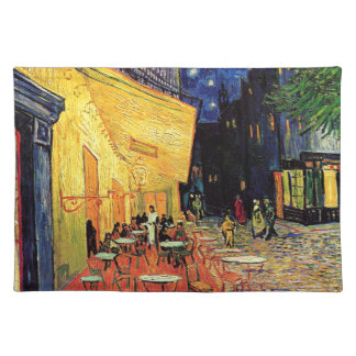 Van Gogh Cafe Terrace At Night Cloth Placemat