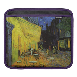 Van Gogh; Cafe Terrace at Night Sleeves For iPads