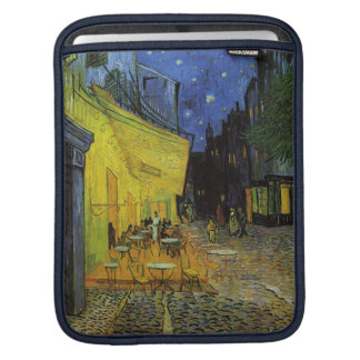 Van Gogh; Cafe Terrace at Night Sleeve For iPads