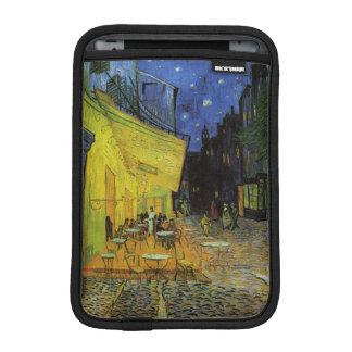 Van Gogh; Cafe Terrace at Night iPad Mini Sleeves