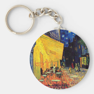 Van Gogh - Cafe Terrace At Night Key Chain