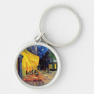 Van Gogh - Cafe Terrace At Night Keychains