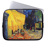 Van Gogh - Cafe Terrace At Night Laptop Computer Sleeves