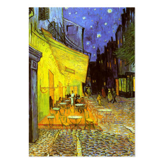 Van Gogh: Cafe Terrace at Night Large Business Cards (Pack Of 100)