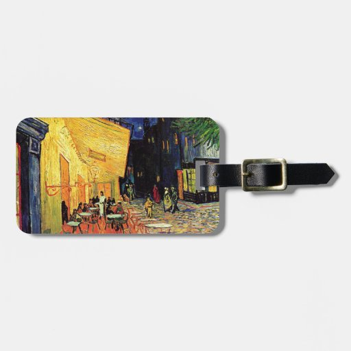 Van Gogh Cafe Terrace At Night Tag For Bags