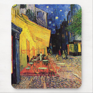 Van Gogh Cafe Terrace At Night Mouse Pad