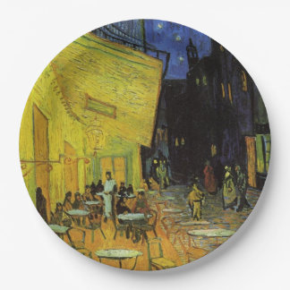 Van Gogh; Cafe Terrace at Night Paper Plate