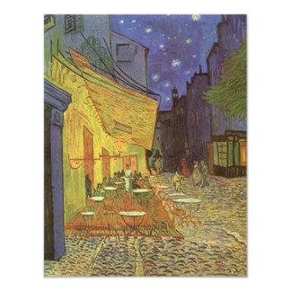 Van Gogh Cafe Terrace At Night Party Invitation