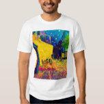 Van Gogh - Cafe Terrace At Night Pop Art T-Shirt