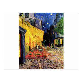 Van Gogh Cafe Terrace At Night Postcard
