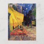 "Van Gogh Cafe Terrace At Night Postcard<br><div class=""desc"">Van Gogh Cafe Terrace At Night</div>"