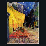 "Van Gogh Cafe Terrace At Night Postcard<br><div class=""desc"">Van Gogh Cafe Terrace At Night</div>"