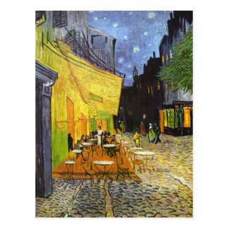 Van Gogh Cafe Terrace at Night Post Cards